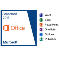 5PC Microsoft Office 2013 Standard