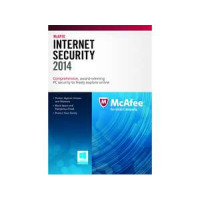 McAfee Internet Security 2014 1pc 1 gads