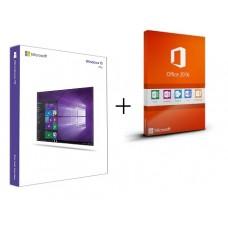 Windows 10 Pro + Office 2016 Pro Plus