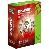DR.WEB SECURITY SPACE PRO 2 PC - 1 gads