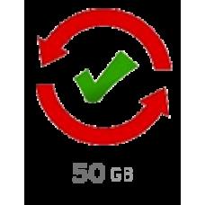 20 domēni 50 gb