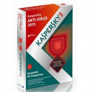 KASPERSKY ANTI-VIRUS 2013-14 1 PC - 1 gads (2014)